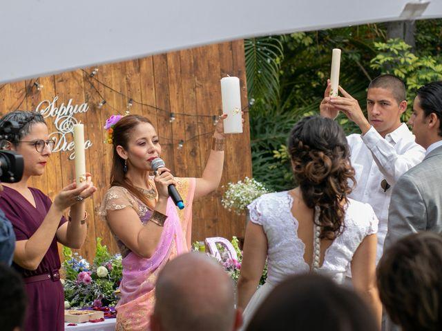 La boda de Diego y Sophía en Cuernavaca, Morelos 44