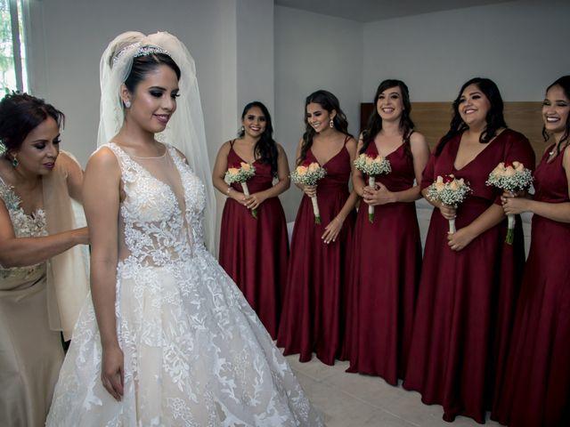 La boda de Héctor y Saridandy en San Andrés Cholula, Puebla 5
