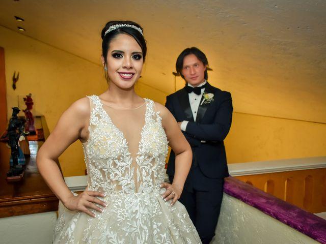 La boda de Héctor y Saridandy en San Andrés Cholula, Puebla 25