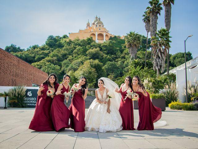 La boda de Héctor y Saridandy en San Andrés Cholula, Puebla 2