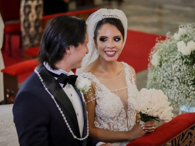 La boda de Héctor y Saridandy en San Andrés Cholula, Puebla 12