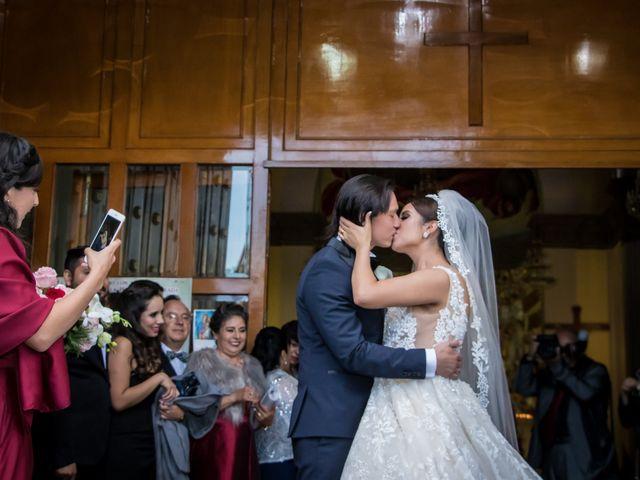 La boda de Héctor y Saridandy en San Andrés Cholula, Puebla 14