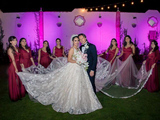 La boda de Héctor y Saridandy en San Andrés Cholula, Puebla 19