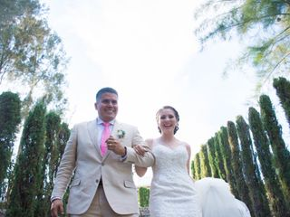 La boda de Selene y Rene