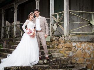 La boda de Kesia y David