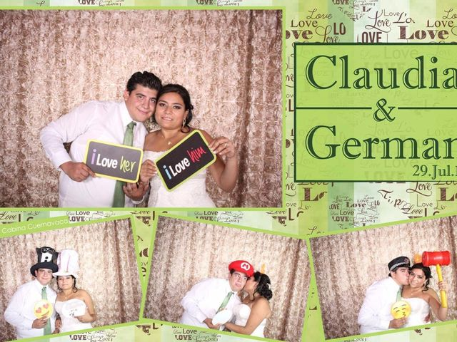 La boda de Germán y Claudia en Jiutepec, Morelos 15