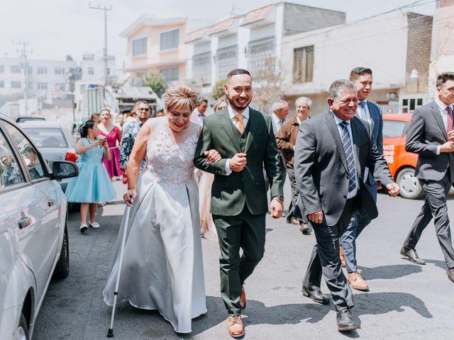 La boda de Uriel y Gabriela en Tepotzotlán, Estado México 19