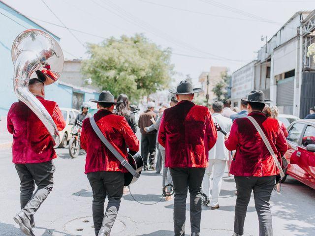 La boda de Uriel y Gabriela en Tepotzotlán, Estado México 20