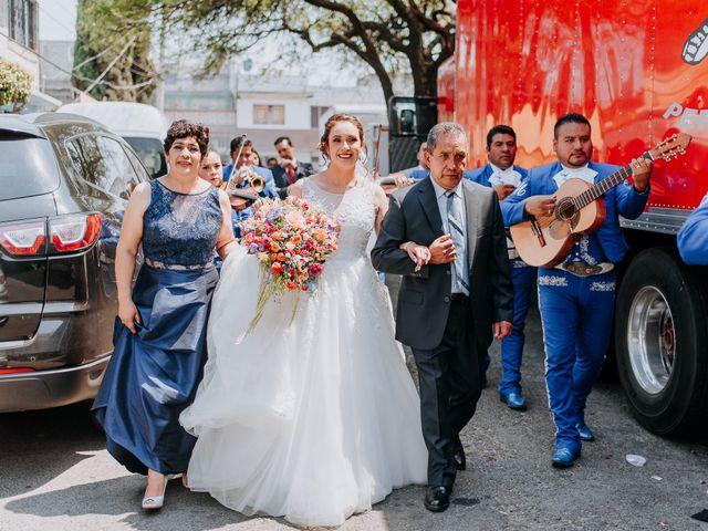 La boda de Uriel y Gabriela en Tepotzotlán, Estado México 21