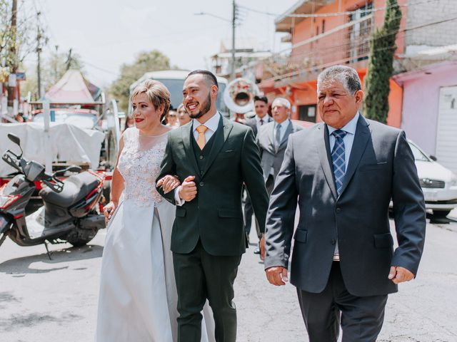 La boda de Uriel y Gabriela en Tepotzotlán, Estado México 22