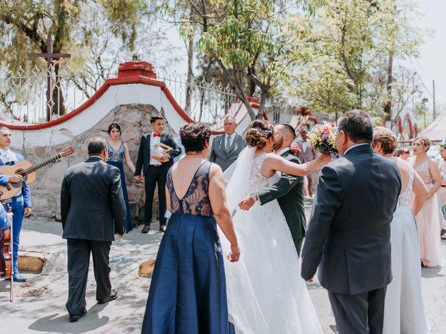 La boda de Uriel y Gabriela en Tepotzotlán, Estado México 23
