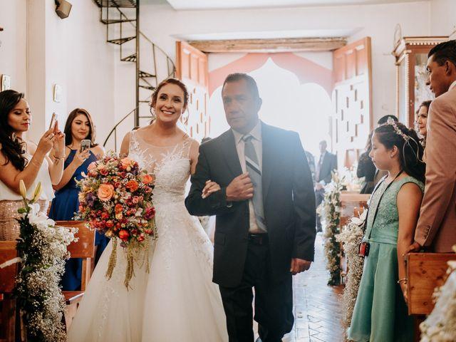 La boda de Uriel y Gabriela en Tepotzotlán, Estado México 26