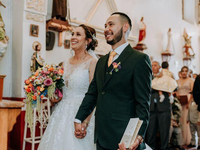 La boda de Uriel y Gabriela en Tepotzotlán, Estado México 29