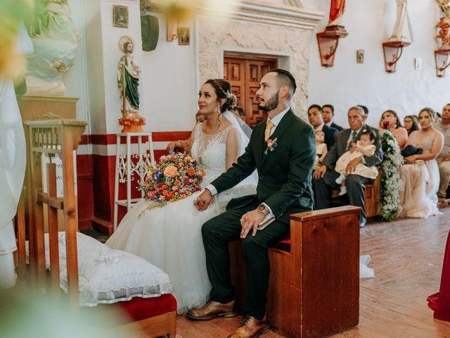 La boda de Uriel y Gabriela en Tepotzotlán, Estado México 30