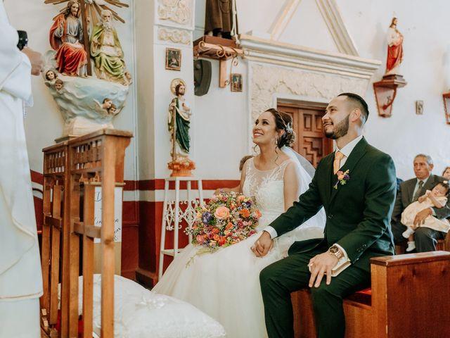 La boda de Uriel y Gabriela en Tepotzotlán, Estado México 31