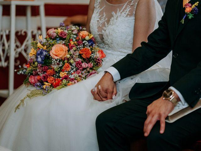 La boda de Uriel y Gabriela en Tepotzotlán, Estado México 32
