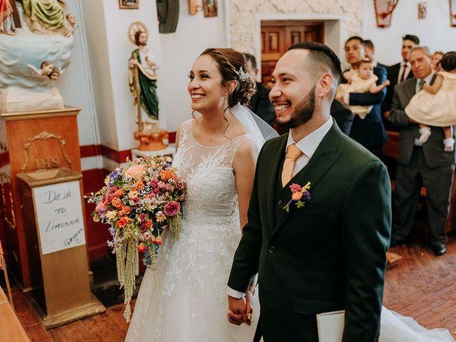 La boda de Uriel y Gabriela en Tepotzotlán, Estado México 33