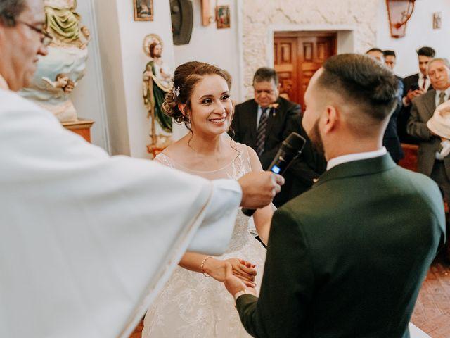 La boda de Uriel y Gabriela en Tepotzotlán, Estado México 34