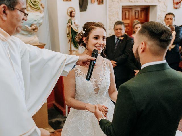 La boda de Uriel y Gabriela en Tepotzotlán, Estado México 35