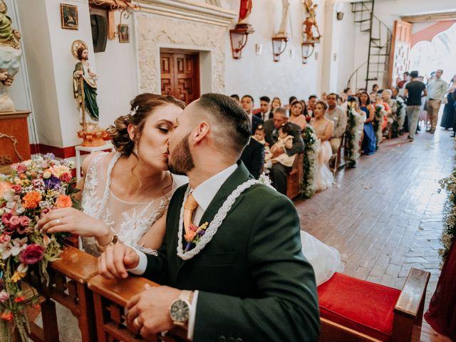 La boda de Uriel y Gabriela en Tepotzotlán, Estado México 39