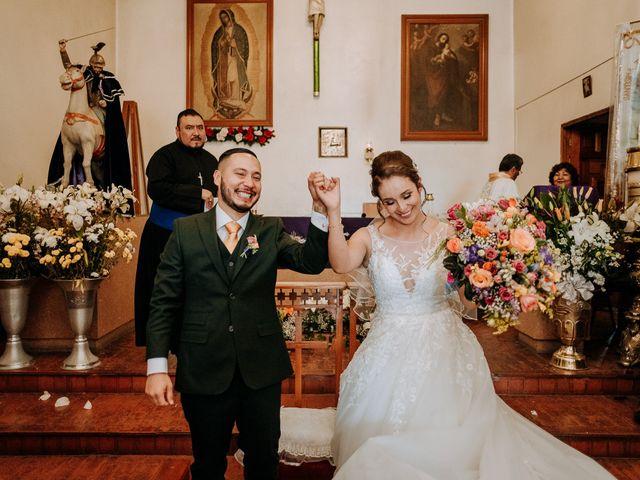 La boda de Uriel y Gabriela en Tepotzotlán, Estado México 40