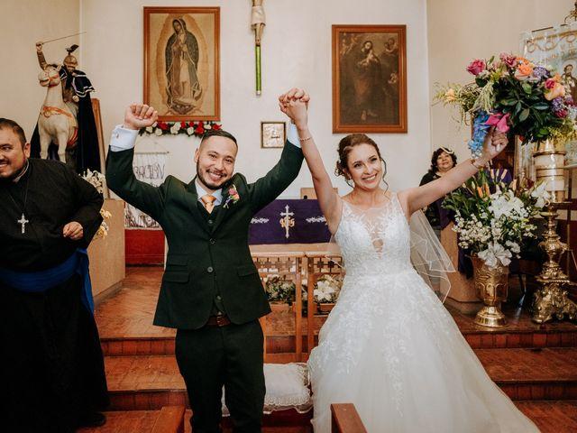 La boda de Uriel y Gabriela en Tepotzotlán, Estado México 41
