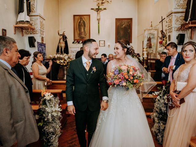 La boda de Uriel y Gabriela en Tepotzotlán, Estado México 42