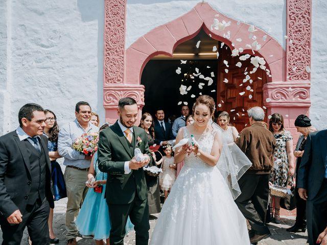 La boda de Uriel y Gabriela en Tepotzotlán, Estado México 43