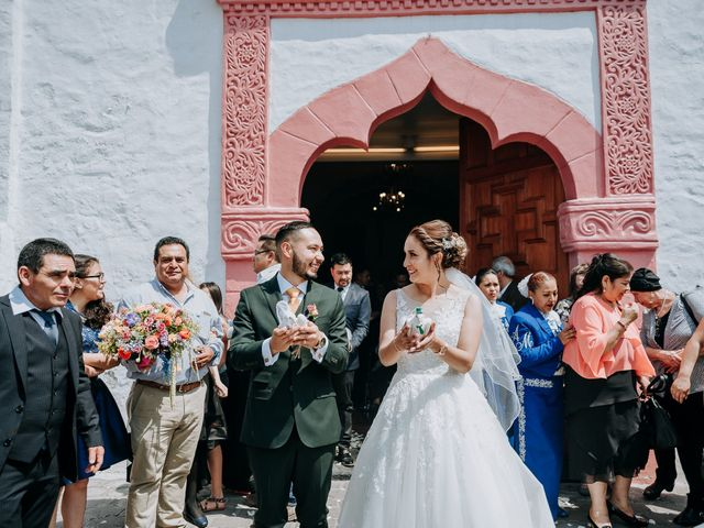 La boda de Uriel y Gabriela en Tepotzotlán, Estado México 44