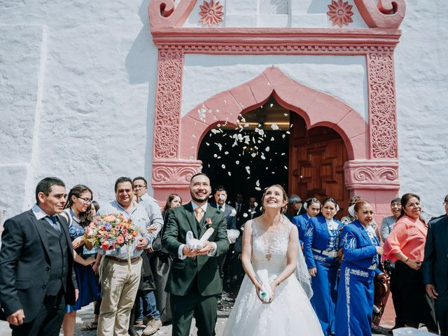 La boda de Uriel y Gabriela en Tepotzotlán, Estado México 45