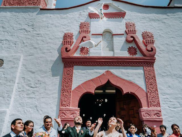 La boda de Uriel y Gabriela en Tepotzotlán, Estado México 46
