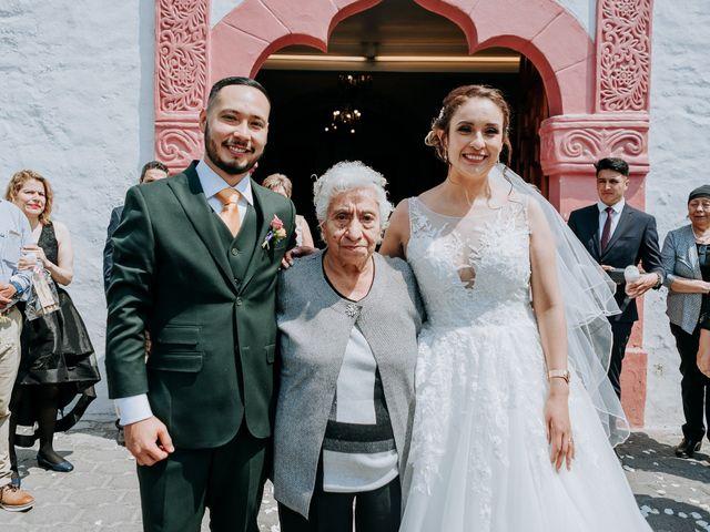 La boda de Uriel y Gabriela en Tepotzotlán, Estado México 47
