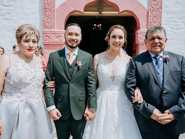 La boda de Uriel y Gabriela en Tepotzotlán, Estado México 48