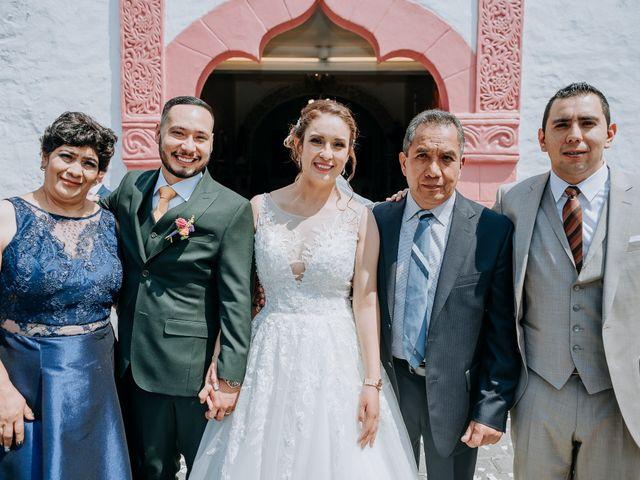 La boda de Uriel y Gabriela en Tepotzotlán, Estado México 49