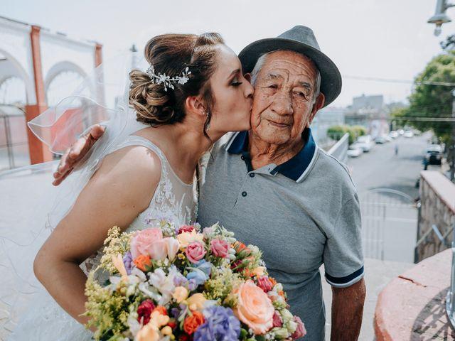 La boda de Uriel y Gabriela en Tepotzotlán, Estado México 50