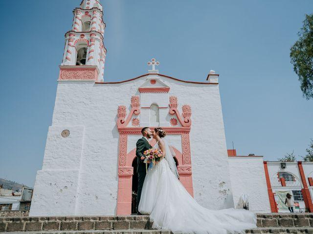 La boda de Uriel y Gabriela en Tepotzotlán, Estado México 51