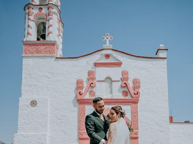 La boda de Uriel y Gabriela en Tepotzotlán, Estado México 52