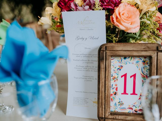 La boda de Uriel y Gabriela en Tepotzotlán, Estado México 56