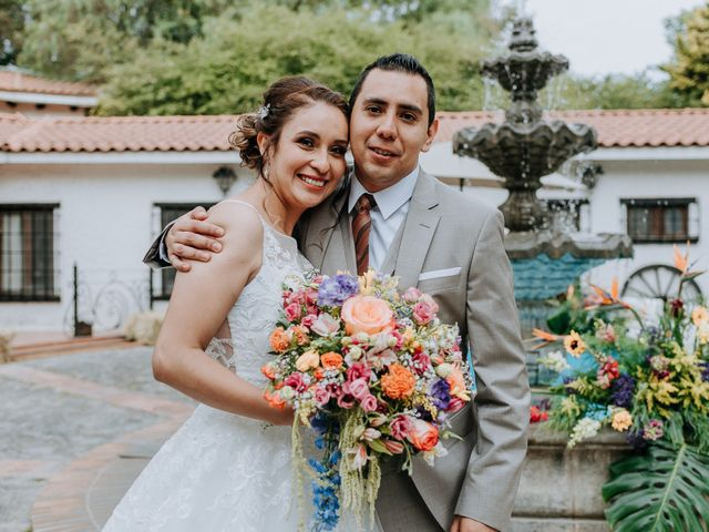 La boda de Uriel y Gabriela en Tepotzotlán, Estado México 61