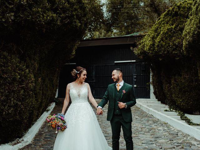 La boda de Uriel y Gabriela en Tepotzotlán, Estado México 69