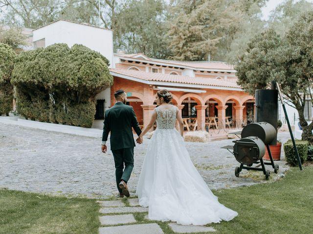 La boda de Uriel y Gabriela en Tepotzotlán, Estado México 79