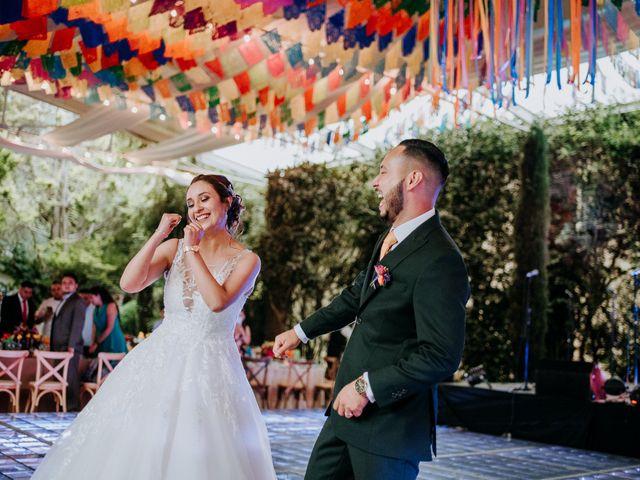 La boda de Uriel y Gabriela en Tepotzotlán, Estado México 84