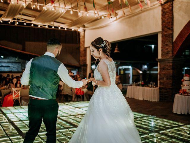 La boda de Uriel y Gabriela en Tepotzotlán, Estado México 96