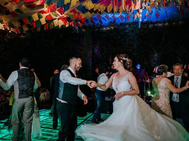 La boda de Uriel y Gabriela en Tepotzotlán, Estado México 100
