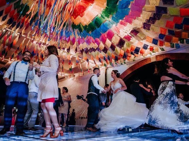 La boda de Uriel y Gabriela en Tepotzotlán, Estado México 101