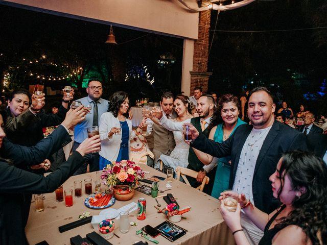 La boda de Uriel y Gabriela en Tepotzotlán, Estado México 105