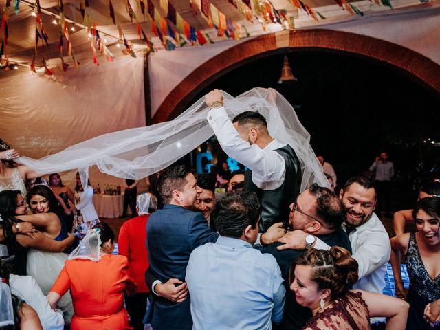 La boda de Uriel y Gabriela en Tepotzotlán, Estado México 110
