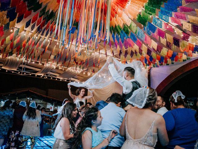 La boda de Uriel y Gabriela en Tepotzotlán, Estado México 112