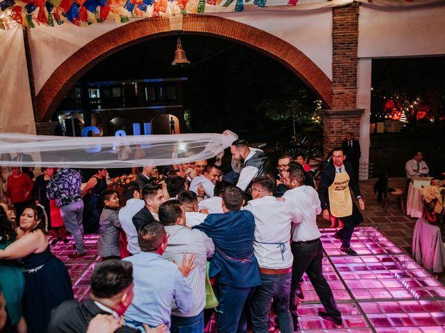 La boda de Uriel y Gabriela en Tepotzotlán, Estado México 114