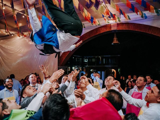 La boda de Uriel y Gabriela en Tepotzotlán, Estado México 115